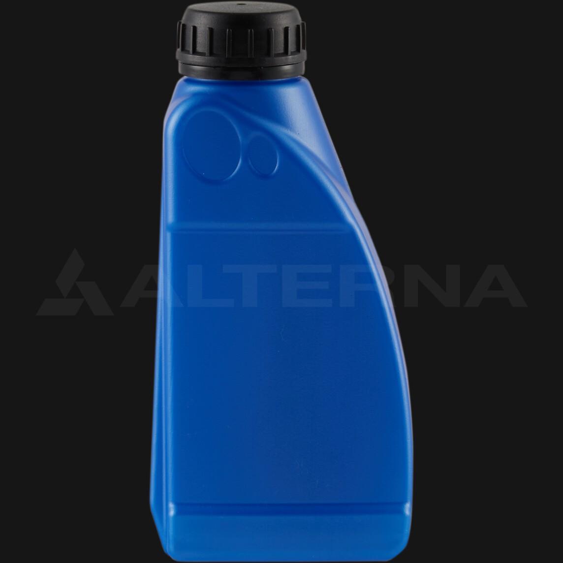 500 ml HDPE Motor Oil Bottle with 38 mm Alu. Seal Secure Cap