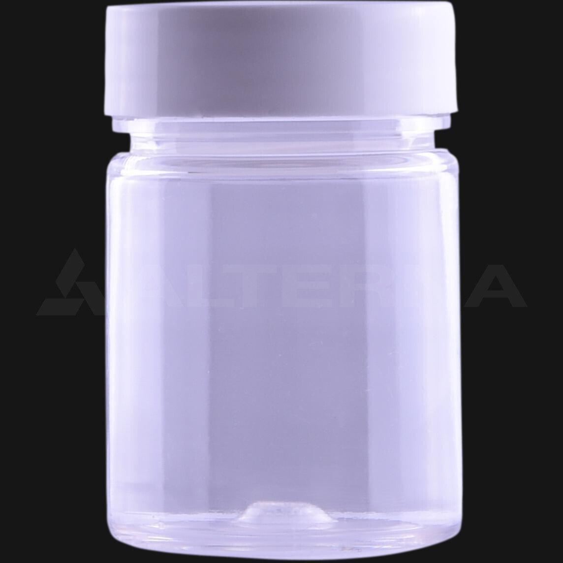 50 ml PET Pill Bottle with 38 mm Alu. Foil Seal Cap