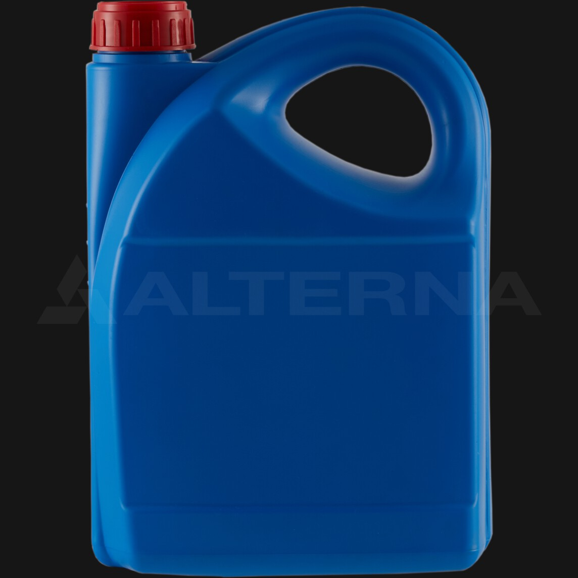5 Liter HDPE Motor Oil Jerry Can with 50 mm Alu. Seal Cap