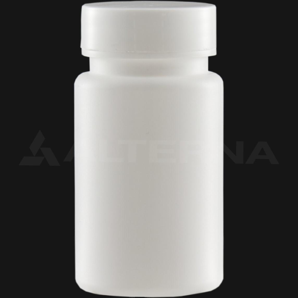 90 ml HDPE Pill Bottle with 38 mm Alu. Foil Seal Cap
