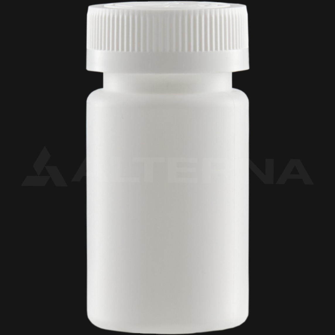 90 ml HDPE Pill Bottle with 38 mm Child Resistant Cap